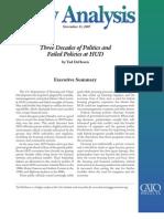 Three Decades of Politics and Failed Policies at HUD, Cato Policy Analysis No. 655