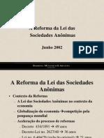 Reforma Da Lei Das Sas.