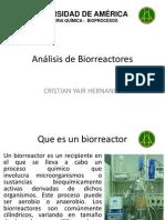 Análisis de Bioreactores