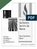 Natural Gas Dynamics - Mod 1