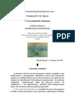 Fredrich W. H. Myers - A Personalidade Humana