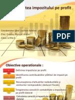 Contabilitatea Impozitului Pe Profit