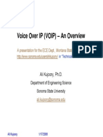 VOIP Overview and Signaling for MSU