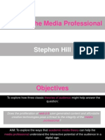Theory and the Media Professional