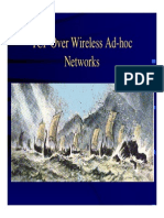 Tcp Over Adhoc Networks
