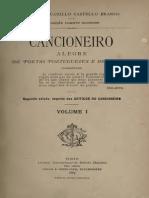 Camilo Castelo Branco - Cancioneiro Alegre de Poetas Portugueses e Brasileiros I
