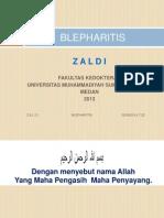 A. Blepharitis