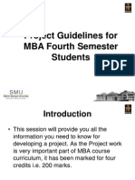 Project Mba