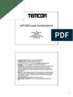 API 650 Load Combinations