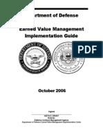 Earned Value Management Implementation Guide