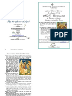 2014 - 8 June - Pentecost Matins