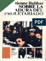 65830104 Balibar Sobre Dictadura Proletariado OCR