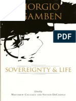 Agamben Sovereignty and Life