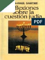 65151292 Sartre Reflexiones Sobre La Cuestion Judia OCR