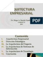 2. Arquitectura Empresarial