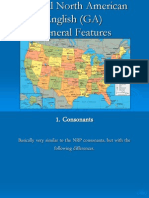 General North American English - General Characteristics