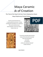 The Maya Ceramic Book of Creation