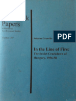 In the Line of Fire. Soviet invasion of Hungary. Johanna Granville