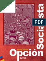 Revista Opcion Socialista Edición Especial # 3 (Mayo, Junio, Julio)