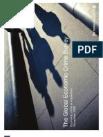 PWC Global Economic Crime Survey 2009