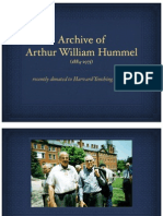 arthur william hummel