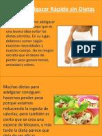Como Adelgazar Rapido Sin Dietas