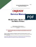 Okidata ML320 Turbo ML321 Turbo Service Manual