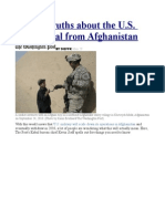 5 Harsh Truths About the U.S. Withdrawal From Afghanistan
