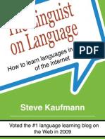 Kaufmann Steve - The Linguist on Language