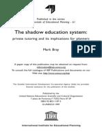 Shadow of Education