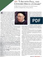 Cardinal Biffi on St Paul and Sodomy
