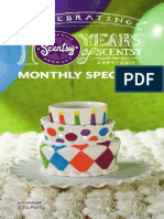 Scentsy Warmer Scent of the Month July 2014