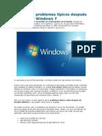 Solucionar Problemas Típicos Después de Instalar Windows 7
