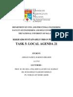 TASK 5 LOCAL AGENDA 21 (A133762)