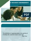 Sales & Key Account Management