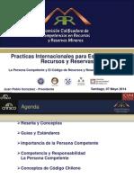 5 - Practicas Internacionales Est. R y R - J.P Gonzalez - Comision Minera