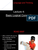 13 Ling 21 - Lecture 4 - Basic Logical Arguments