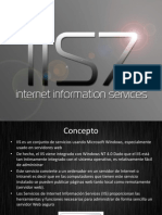 El IIS Sistema Operativo