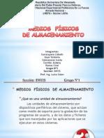 MEDIOS  F+ìSICOS  DE ALMACENAMIENTO