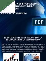 Transacciones Propiciadas Por La Tecnología de La Información