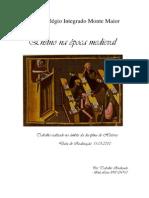 Trabalho Sobre Ensino Na Epoca Medieval