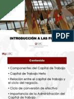 Unidad 3 Clase 10 Capital de Trabajo 2012