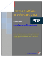 Current Affairs of February 2014- Www.ibps-news.blogspot.in