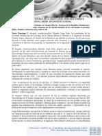 010614 Nota de Prensa Dr. Jorge Prats y Otros Expertos.