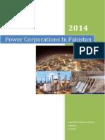 Power Corporations In Pakistan 2014
