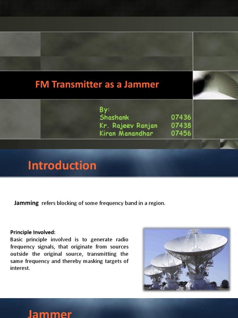 FM Jammer