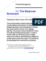 Balance Scorecard 1