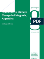 Resilience to Climate Change in Patagonia