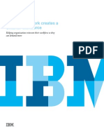 IBM Redesigning Work Creates a Smarter Workforce