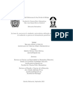 Cruz M.(2013) La Toma de Conciencia de Estudiantes Universitarios Utilizando Actividades de Mediación en Procesos de Demostración Geométrica.